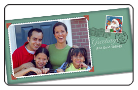 Sample Holiday Greeting Card